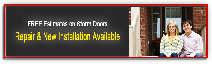 Storm Doors Button